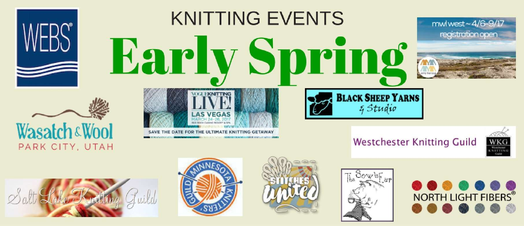 Knitting Events Near Me : Spring knitting events patty lyons